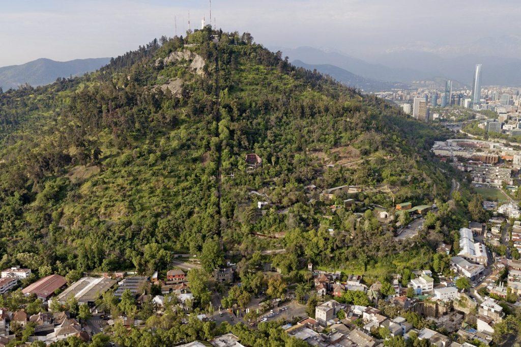 Crear - Cumbre, cerro San Cristóbal